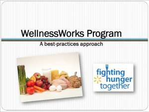 Wellness Works PowerPoint Webinar